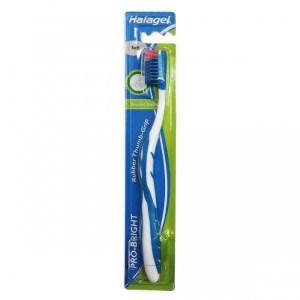 halagel toothbrush pro-bright soft