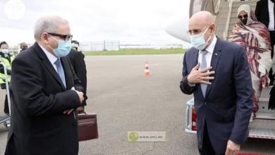 صورة الرئيس غزواني يصل باريس للمشاركة في قمة تمويل الإقتصادات الإفريقية