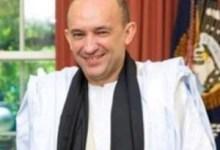 صورة ولد داداه مندوبا للجامعة العربية بنوب افريقيا