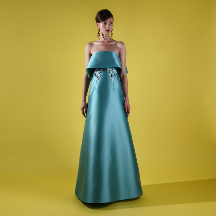 Ready to wear evening gown