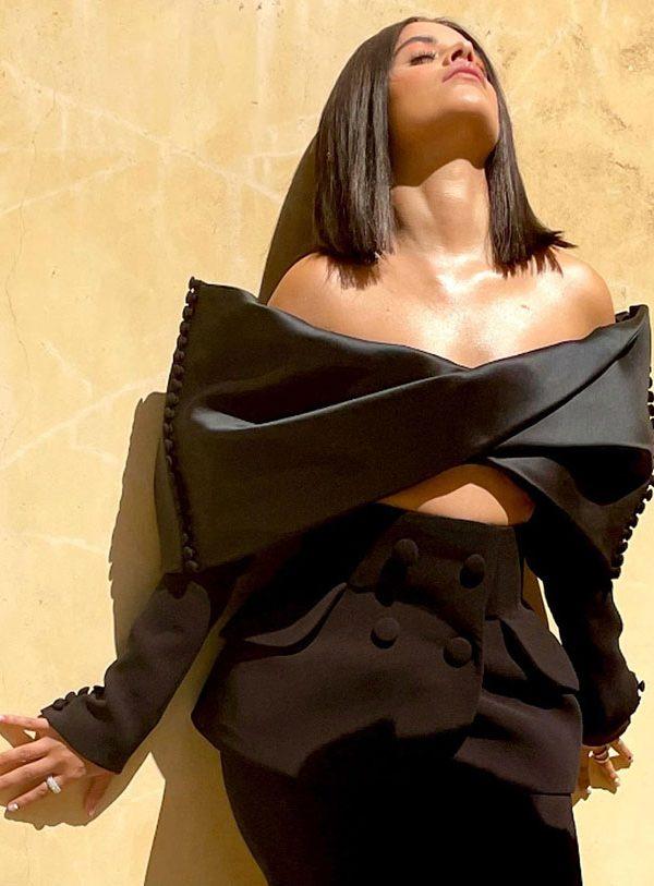 Camila Cabello wearing Azzi & Osta