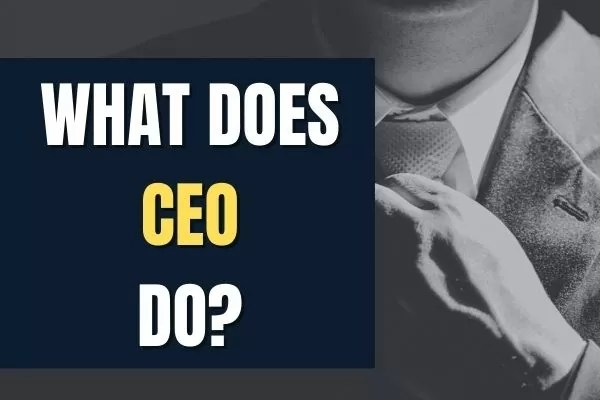 What does CEO DO