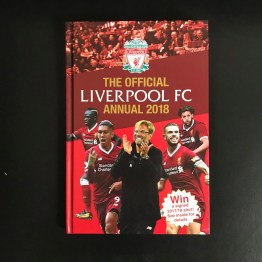 The Official Liverpool Annual 2018