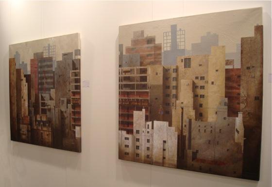 Obra de Juan Ranieri. arteBA 2008.