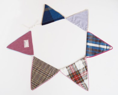 Banderines de la línea Escuela de Pesqueira para Tienda Malba
