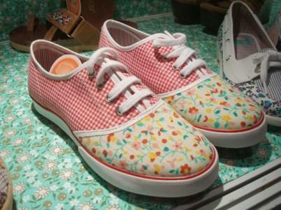 Zapatillas con mix de prints de Huija - Primavera Verano 2009/2010 - BAF Week