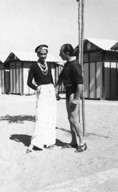 Gabrielle 'Coco' Chanel con el Duque Laurino de Roma