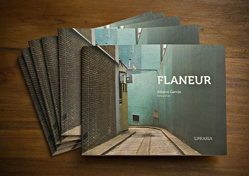 Tapa del libro Flaneur