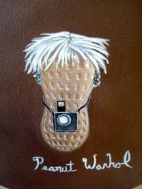 Peanut Andy Warhol de Sam Simon - Bushwick Open Studios
