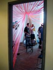 Entrada a un estudio - Bushwick Open Studios