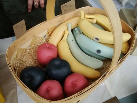 Juegos de sal y pimienta en forma de bananas (!!)