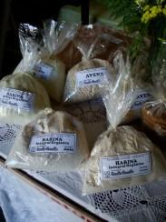 Harinas orgánicas de diferentes granos