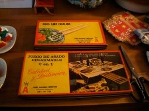 Juegos de cubiertos vintage en Souvenir