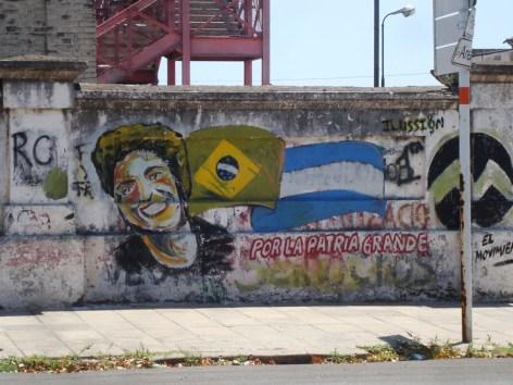 En alguna pared de Rosario
