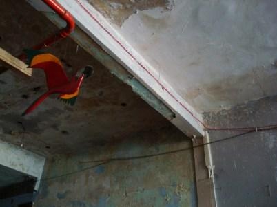 Un recoveco del techo