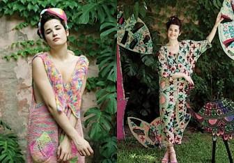 Vestidos tejidos - Juana de Arco - Moda invierno 2011