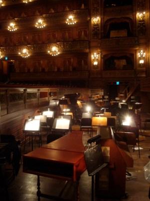 Cámara de la orquesta