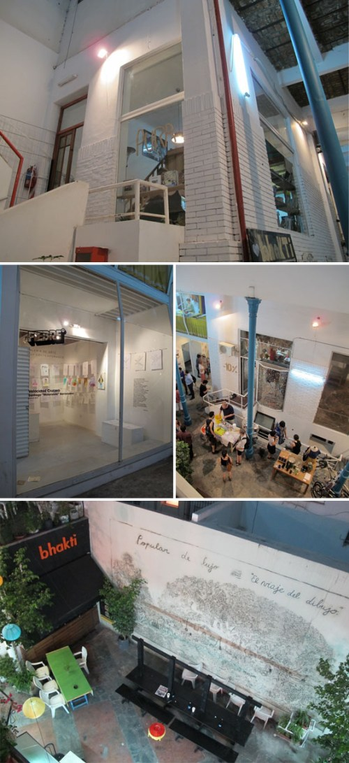 Fotos de la galeria Patio del Liceo en 2011. Foto.