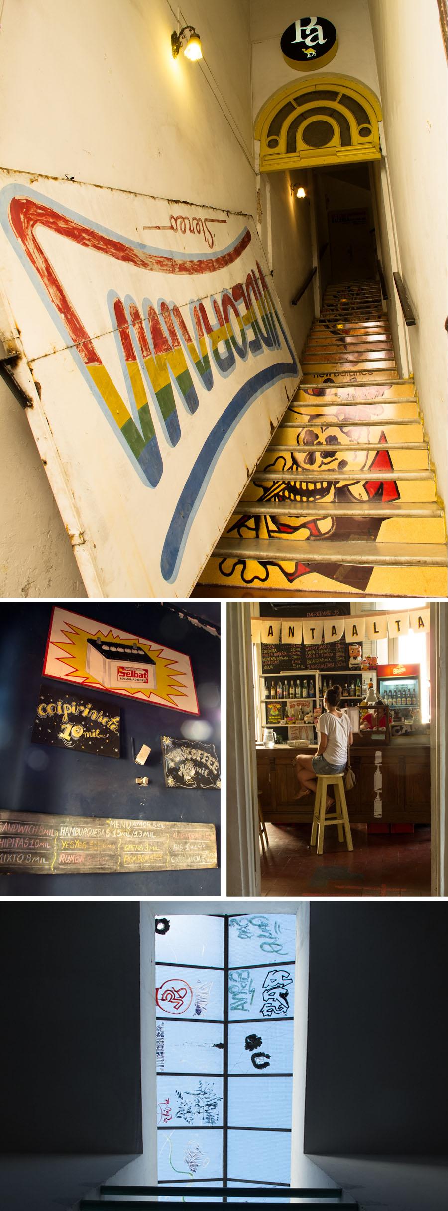 Café y galería de arte Planta Alta, en Asunción. Fotos
