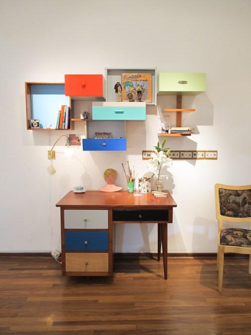 Instalación en la tienda Dédalo en Barranco. Foto