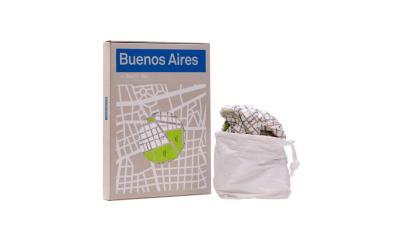 Smart Map: Mapa de Buenos Aires en Tyvek. Foto
