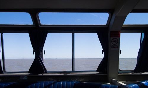 Viaje en el catamarán Cacciola a Isla Martín García. Foto