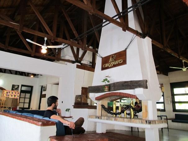 Salón Cinzano del parador y comedor Hércules Foto