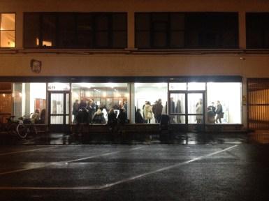 Galería V1 en el meatpacking district de Copenhague. Foto