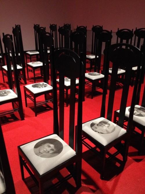 Exposición de Francesco Vezzoli en el Maxxi de Roma. Foto