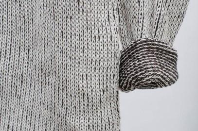 Mestizo: Sweater de lana merino por dentro, algodón agroecológico por fuera. ©Cúbreme