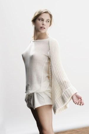 Mangas Chiyo y sweater ONE de algodón orgánico. ©Cúbreme