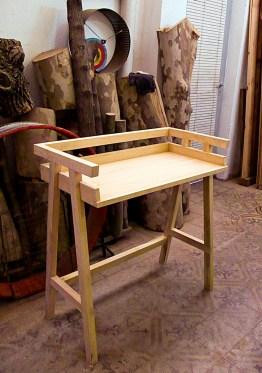 Escritorio de madera, por Diego Veras + Laboratori. Foto