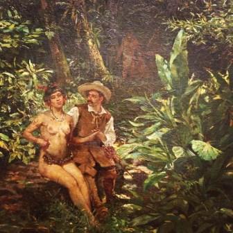 Postales de viaje de Lucila Domínguez: Pintura en la Pinacoteca de Sao Paulo. Foto