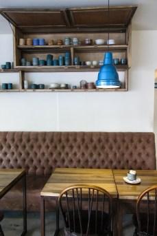 Las cocineras se inspiraron en el estilo despojado de Höst para la puesta. Foto