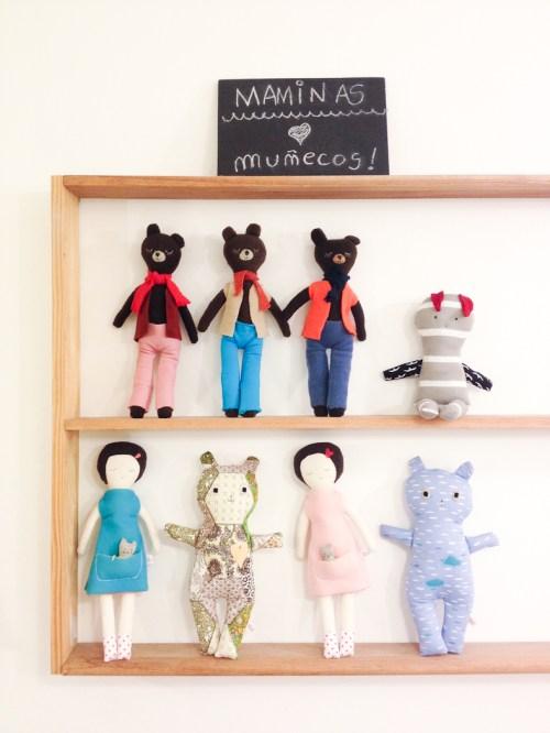 Muñecos de trapo de Maminas. Foto