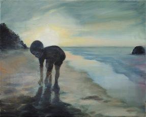 Abend / Öl auf Leinwand / 40 x 50 cm / 2019