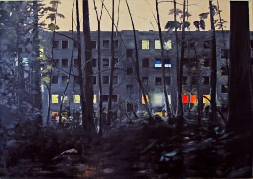 Am Jägerpark 57-57 VI / Öl auf Leinwand / 150 x 200 cm / 2009