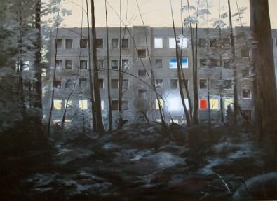 Am Jägerpark 57-57 VIII / Öl auf Leinwand / 150 x 200 cm / 2010