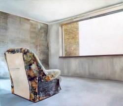 Aus-Blick I / Öl auf Leinwand / 174 x 198 cm / 2008