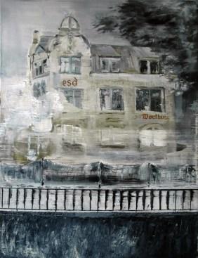 Die Wartburg / Öl auf Leinwand / 80 x 60 cm / 2007