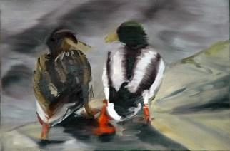 Gertrut und Victor / Öl auf Leinwand / 60 x 90 cm / 2002