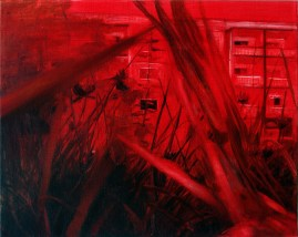Grasstück / Öl auf Leinwand / 40 x 50 cm / 2013