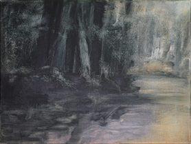 Im Fluss / Öl auf Leinwand / 30 x 40 cm / 2019