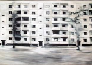 Reicker Straße I / Öl auf Leinwand / 140 x 200 cm / 2008