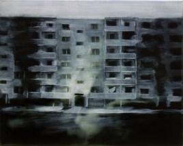 Reicker Straße III / Öl auf Leinwand / 40 x 50 cm /2012