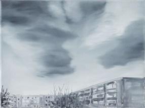 Wolken / Öl auf Leinwand / 30 x 40 cm / 2019