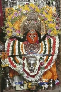 Patron mother goddess of Mumbai- Mumbadevi