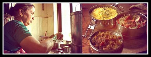 Love & Care is the prime ingredient in the home-made food, which the Dabbawalas carry. Photo edited by Aditya Chichkar.