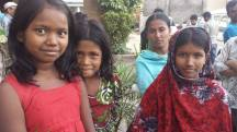 Street children in Dhaka, where I was working on a UNDP project.