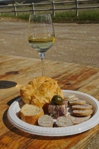 Wine and local produce